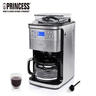 【Princess】荷蘭公主全自動智慧美式咖啡機249406贈保鮮盒