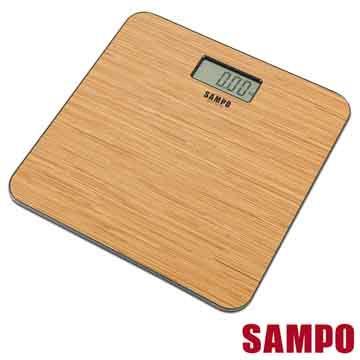 【聲寶Sampo】電子體重計(木紋) -BF-L1502ML