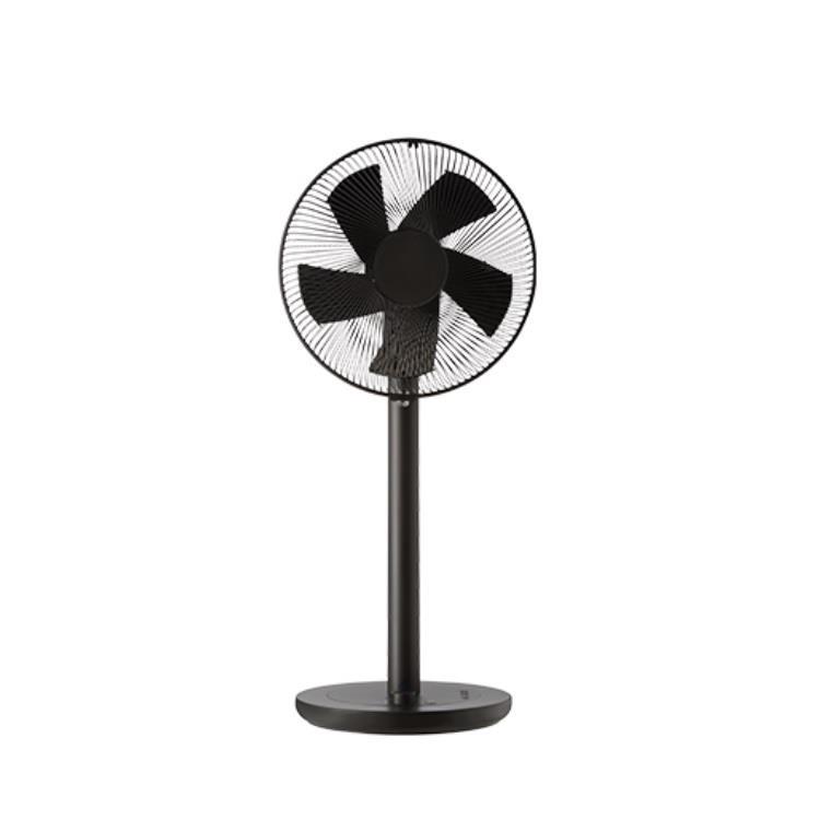 日本±0設計 DC直流馬達節能遙控立扇 XQS-Y620 (黑)
