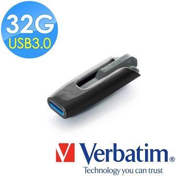 Verbatim Store'n'Go USB 3.0伸縮隨身碟 32GB (灰黑)