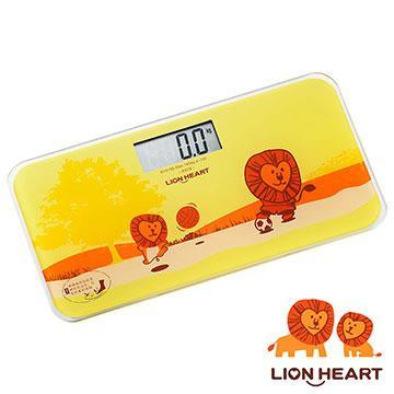 【獅子心 LION HEART】電子體重計 LBS-009