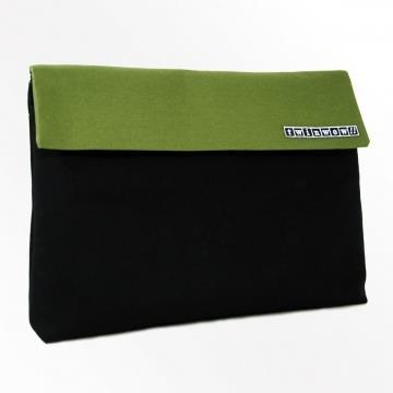 twinwow-都會工藝-細緻質感公事包-時尚黑綠
