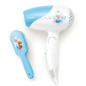 【飛利浦 PHILIPS】 冰雪奇緣 兒童專用負離子吹風機 (BHC199) 附梳子