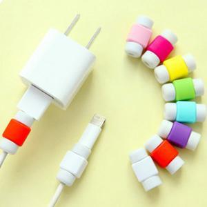 IPHONE蘋果手機充電線彩色保護套(隨機出貨)