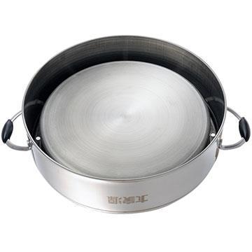 【大家源】304不鏽鋼原味蒸籠(適用十二人份電鍋) TCY-3200