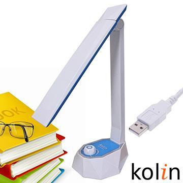 歌林LED旋鈕式護眼檯燈 KTL-SH300LD(藍)