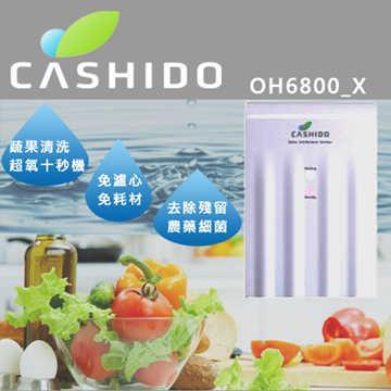 【CASHIDO 華仕德】 超氧離子蔬果清洗裝置十秒機外掛式 (OH6800X)