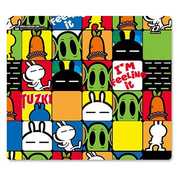 i2艾思奎兔斯基滑鼠墊--就是兔斯基