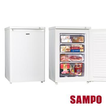 【聲寶SAMPO】87L直立式冷凍櫃冷凍櫃 SRF-90S