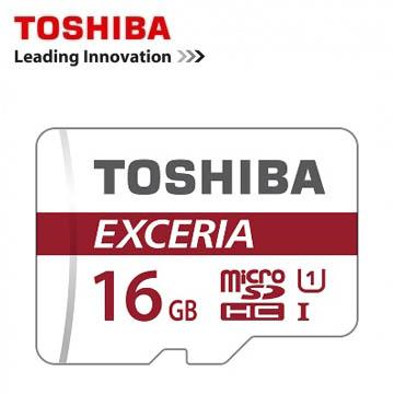 TOSHIBA EXCERIA  Micro-SDHC 90MB/s 16GB (含轉卡)