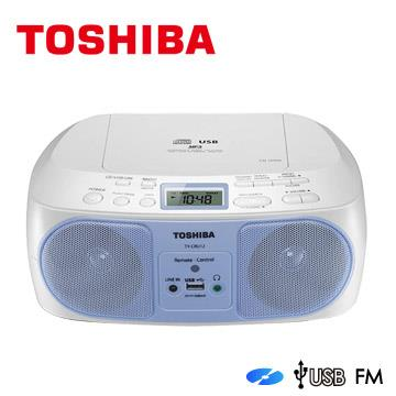 TOSHIBA CD/MP3/FM收音機/USB 手提音響 (TY-CRU12TW)