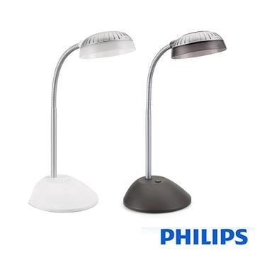 【飛利浦PHILIPS】 酷樂 LED檯燈 66027 黑/白