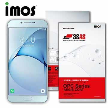 iMOS SAMSUNG GALAXY A8(2016) 3SAS 疏油疏水 螢幕保護貼