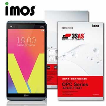 iMOS LG V20 3SAS 疏油疏水 螢幕保護貼