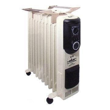 【德國 HELLER 嘉儀】12片葉片式定時電暖器 (KE212TF)
