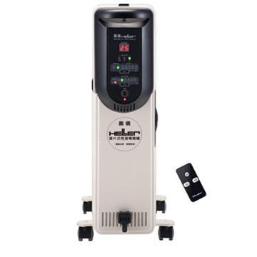 【德國 HELLER 嘉儀】12片葉片式恆溫電暖器-微電腦搖控 (KED512T)