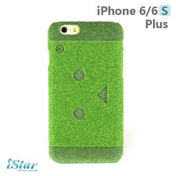 iPhone 6/6s Plus 手機殼 日本 獨家代理 草地/草皮/阿愣 硬殼 5.5吋 Shibaful -阿愣