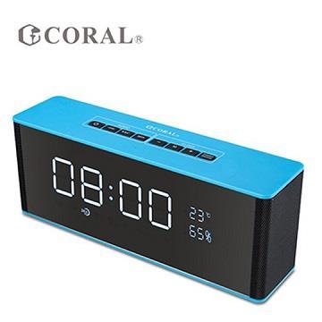 CORAL CBT-06 藍牙時鐘喇叭