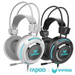 雷柏 RAPOO VPRO 全彩虛擬7.1聲道遊戲耳機VH600