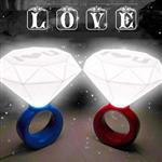 結婚禮物MerryMe嫁給我求婚USB鑽戒造型夜燈/LED燈/鑽石燈(隨機出貨)