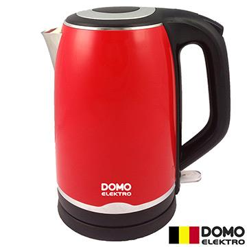比利時【DOMO】2L歐風不鏽鋼快煮壺 DM491WKT