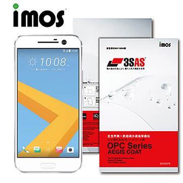 iMOS HTC Desire 10 lifestyle 3SAS 防潑水防指紋 疏油疏水螢幕保護貼