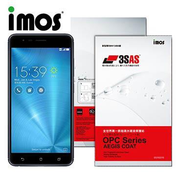 iMOS ASUS ZenFone 3 Zoom 3SAS 防潑水 防指紋 疏油疏水 螢幕保護貼
