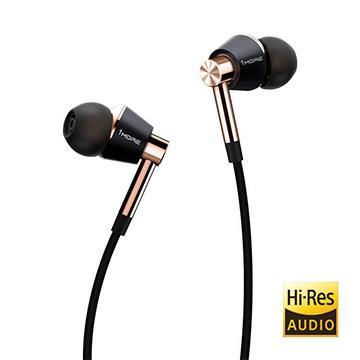 1 MORE E1001 三單元圈鐵耳機 (金)