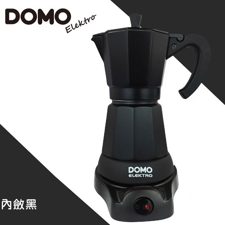 比利時DOMO-經典電動摩卡壺DM413KT-黑 (共六色可選)