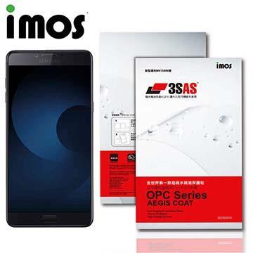iMOS Samsung Galaxy C9 Pro 3SAS 防潑水 防指紋 疏油疏水 螢幕保護貼