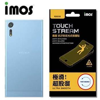 iMOS SONY Xperia XZS Touch Stream 電競 霧面背面保護貼