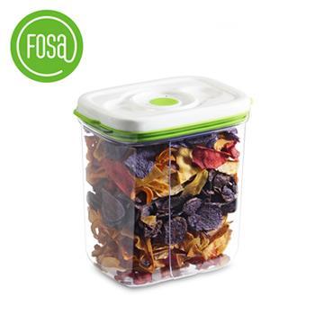【FOSA真鮮寶】方形真空保鮮盒3450ml-1入(HFA13450)