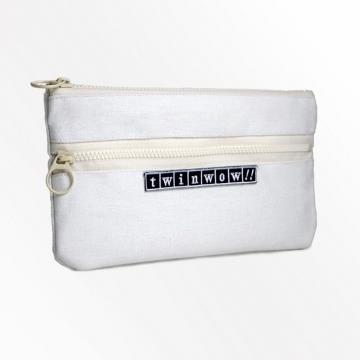 twinwow - 輕盈時尚 - 細緻質感手機包 - 玫瑰白