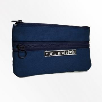 twinwow - 輕盈時尚 - 細緻質感手機包 - 藏青藍