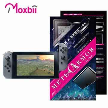 Moxbii Nintendo Switch 抗衝擊 9H 太空盾 螢幕保護貼