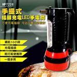 【EASY HOME】手提式插頭充電LED手電筒
