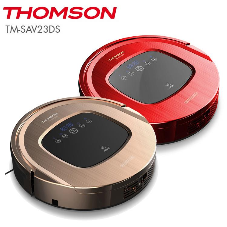 THOMSON 湯姆盛 TM-SAV23DS智慧型掃地機器人-時尚金(共二色) 與SAV-09/SAV09同款