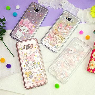 三星 S8 Plus 空壓殼 手機殼 三麗鷗 正版授權 施華洛世奇/水鑽/彩繪/透明 軟殼 6.2吋 Samsung