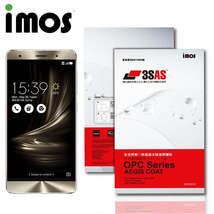 iMOS ASUS ZenFone 3 Deluxe (ZS550KL) 3SAS 疏油疏水 螢幕保