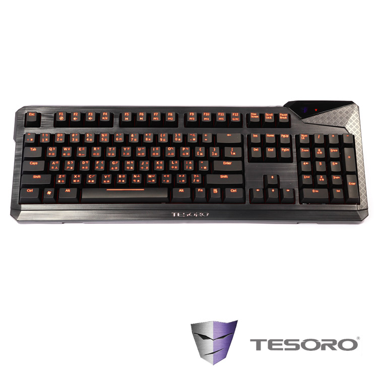 TESORO鐵修羅 杜蘭朵終極版V2 機械式鍵盤-紅軸中文