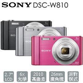 全配上市 SONY DSC-W810 全景數位相機 w810 公司貨