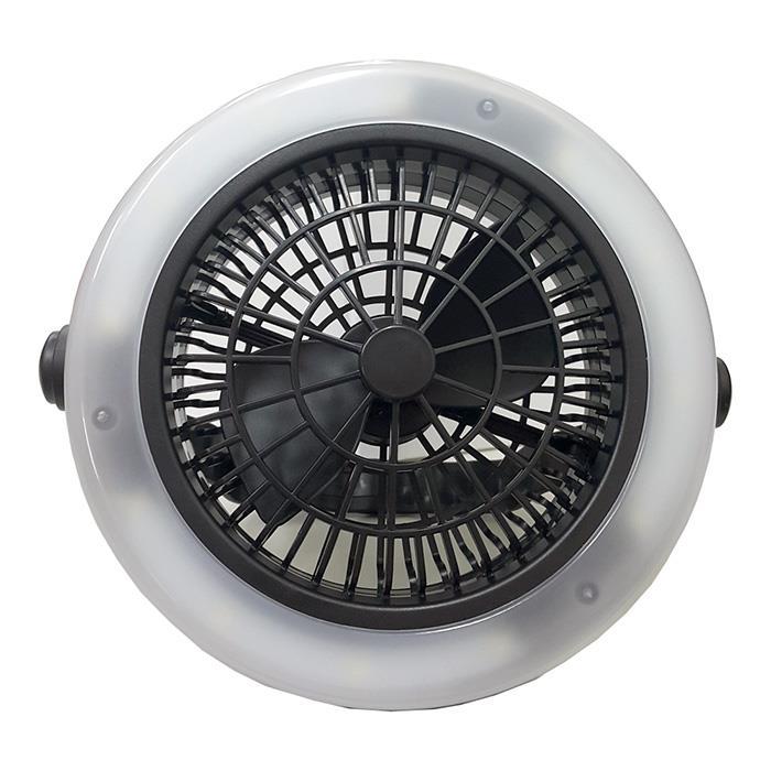 【多功能LED三段隨身風扇燈】露營必備,網美補光好幫手