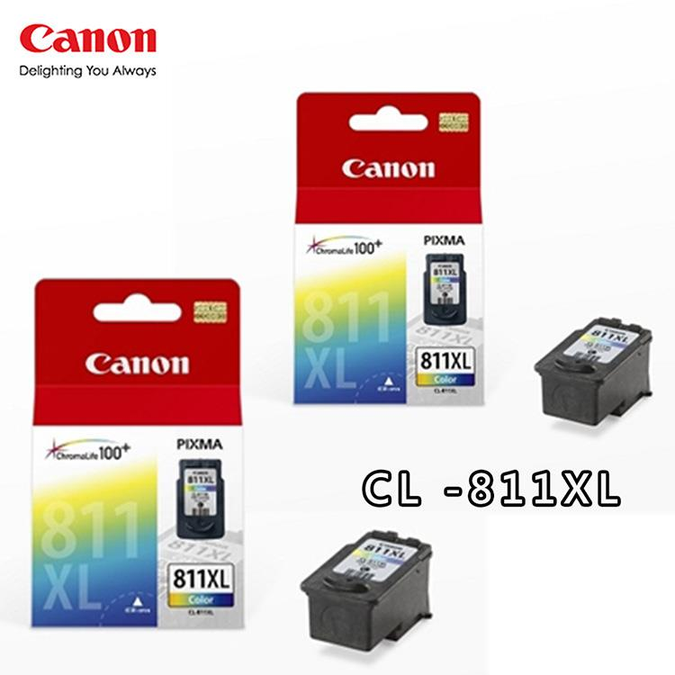 CANON CL-811XL 原廠高容量彩色墨水匣(2彩)