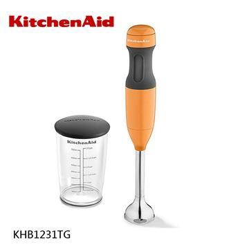 【KitchenAid美國】手持式攪拌機-單件(橘色) KHB1231TG