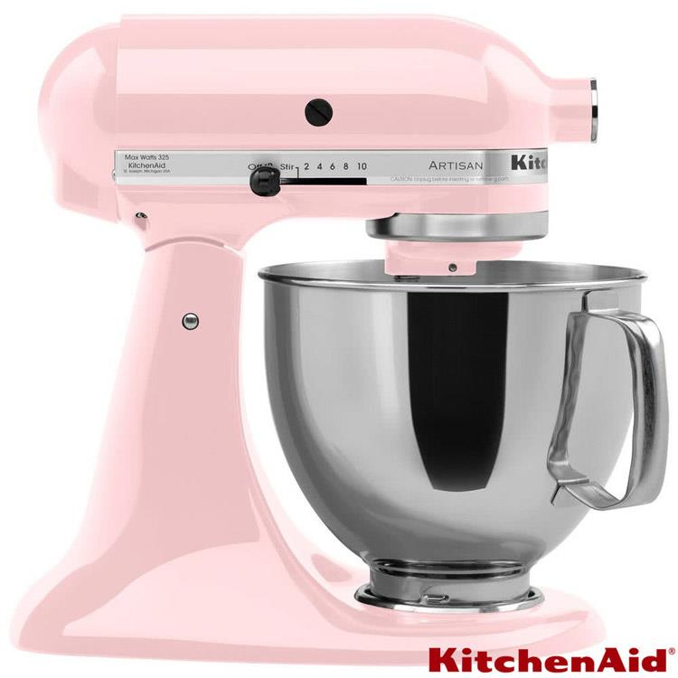 【KitchenAid美國】4.73L抬頭式攪拌機 KSM150PSPK 粉紅色 KSM150