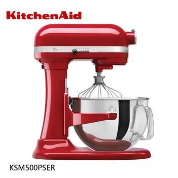 【KitchenAid美國】KSM500 5QT 升降式攪拌機 -紅 KSM500PSER