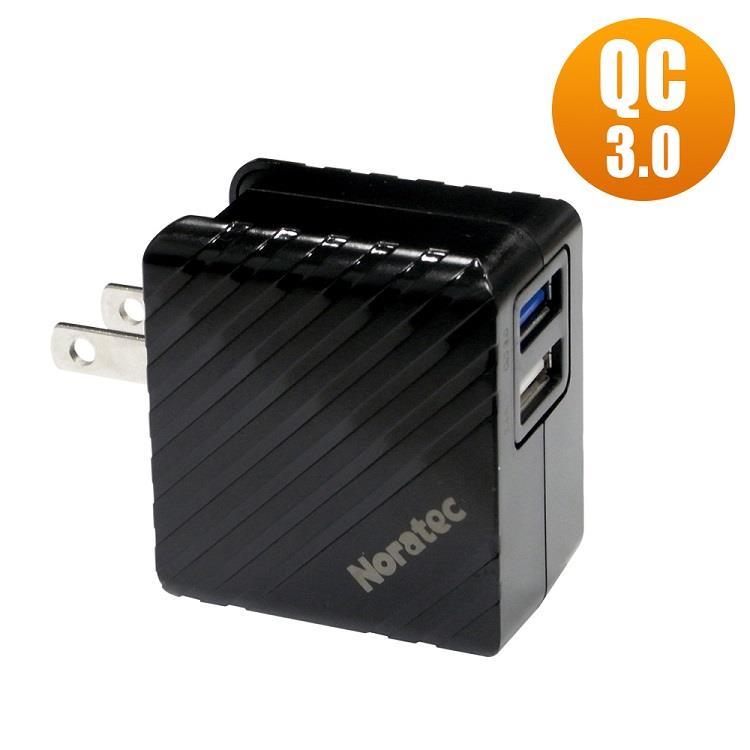 Noratec QC3.0 雙USB輸出變壓器 TC-C350Q