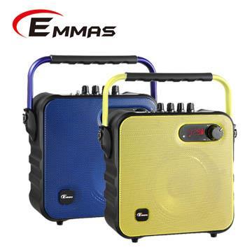 EMMAS 移動式藍芽喇叭/教學無線麥克風 (T-58)福利品