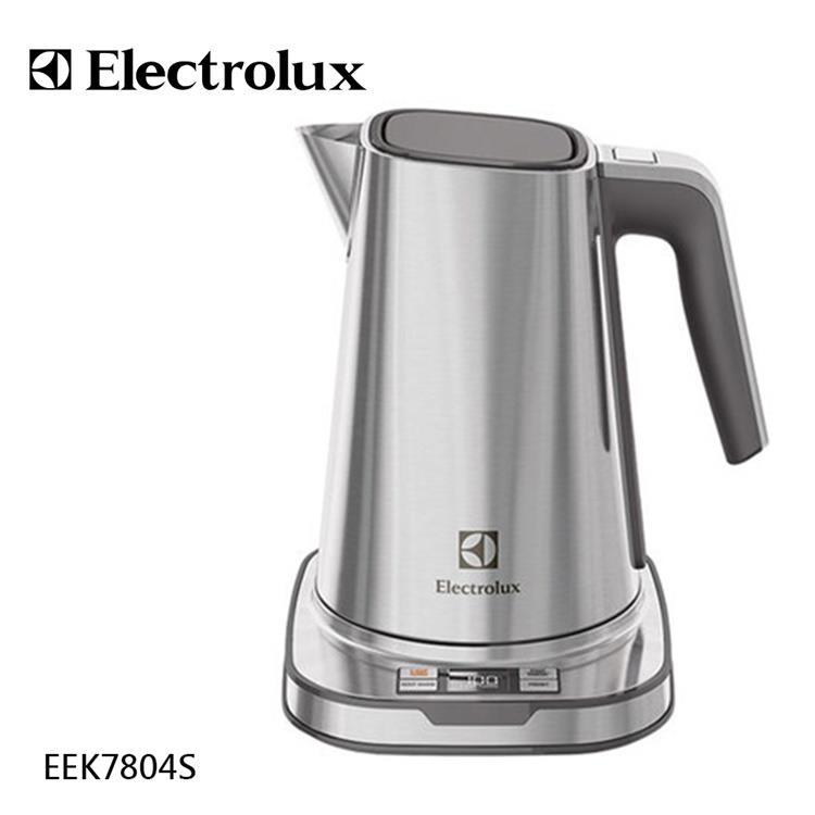 【Electrolux伊萊克斯】設計家不鏽鋼溫控電茶壼 (EEK7804S)