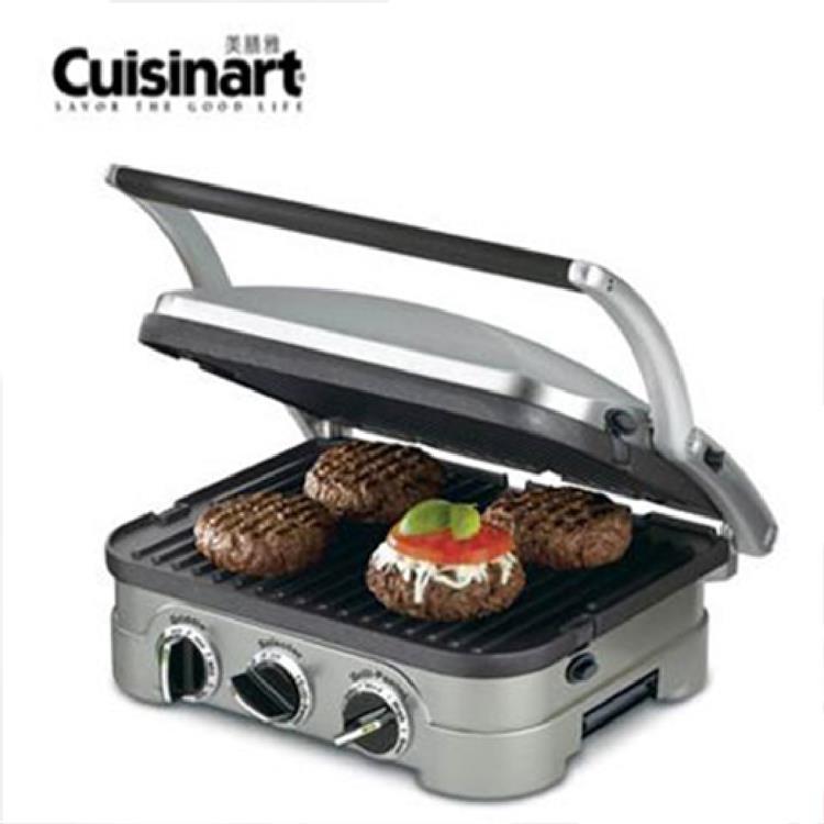 【Cuisinart 美膳雅】多功能煎烤盤 GR-4NTW 燒烤盤